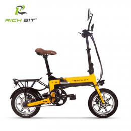 Rich Bit Smart eBike TOP619 (イエロー)次世代Smart eBike