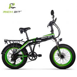 Rich Bit Smart eBike Top016 (グリーン)次世代Smart eBike