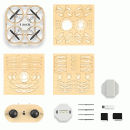 Wooden DIY Drone 4in1+Camera