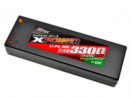 Li-Po 7.4V 3300mAh 35C(for Car)