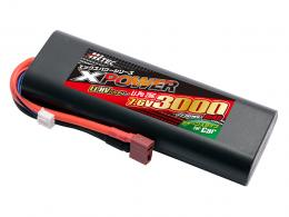 Li-Po 7.6V 3000mAh 25C(for Car)