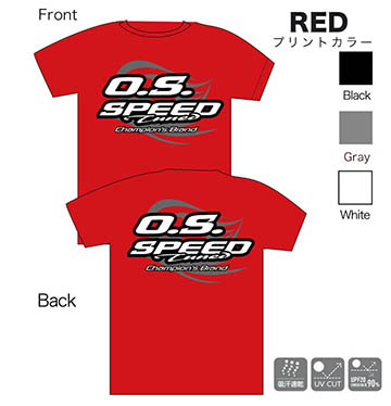 SPEED Tシャツ 2015 RED (M)